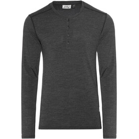 Lundhags Merino Light LS Henley Shirt Men Grey Melange